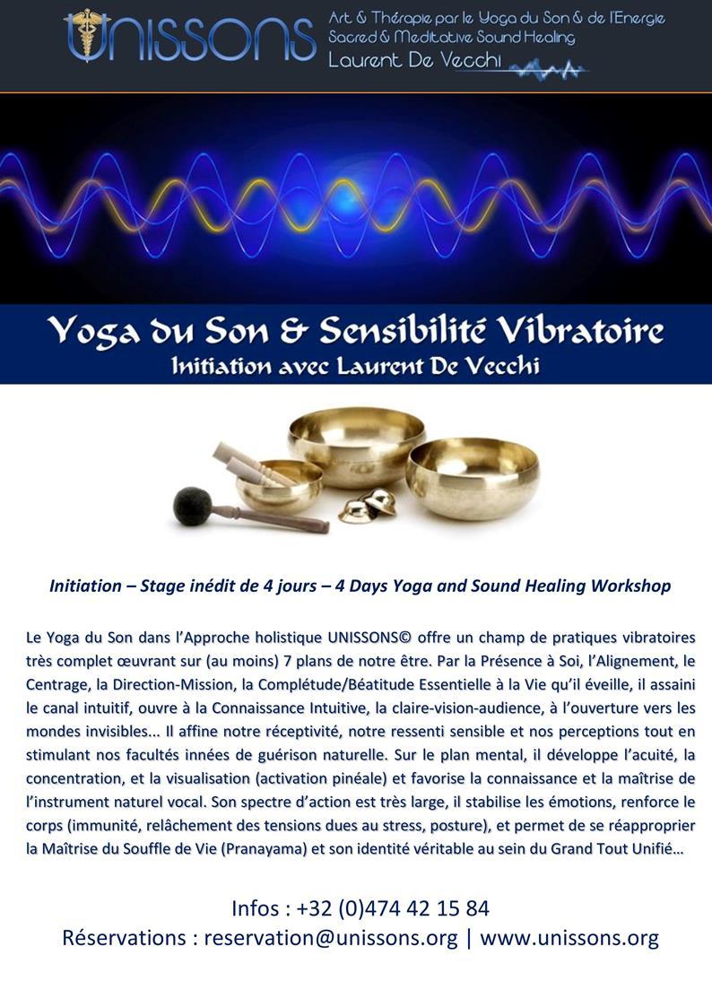 Yoga du Son et Sensibilité Vibratoire