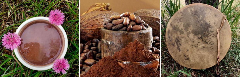 Le Cacao Cérémonial & la Ronde des Tambours
