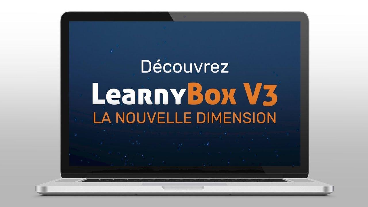 Découvrez LearnyBox V3 !