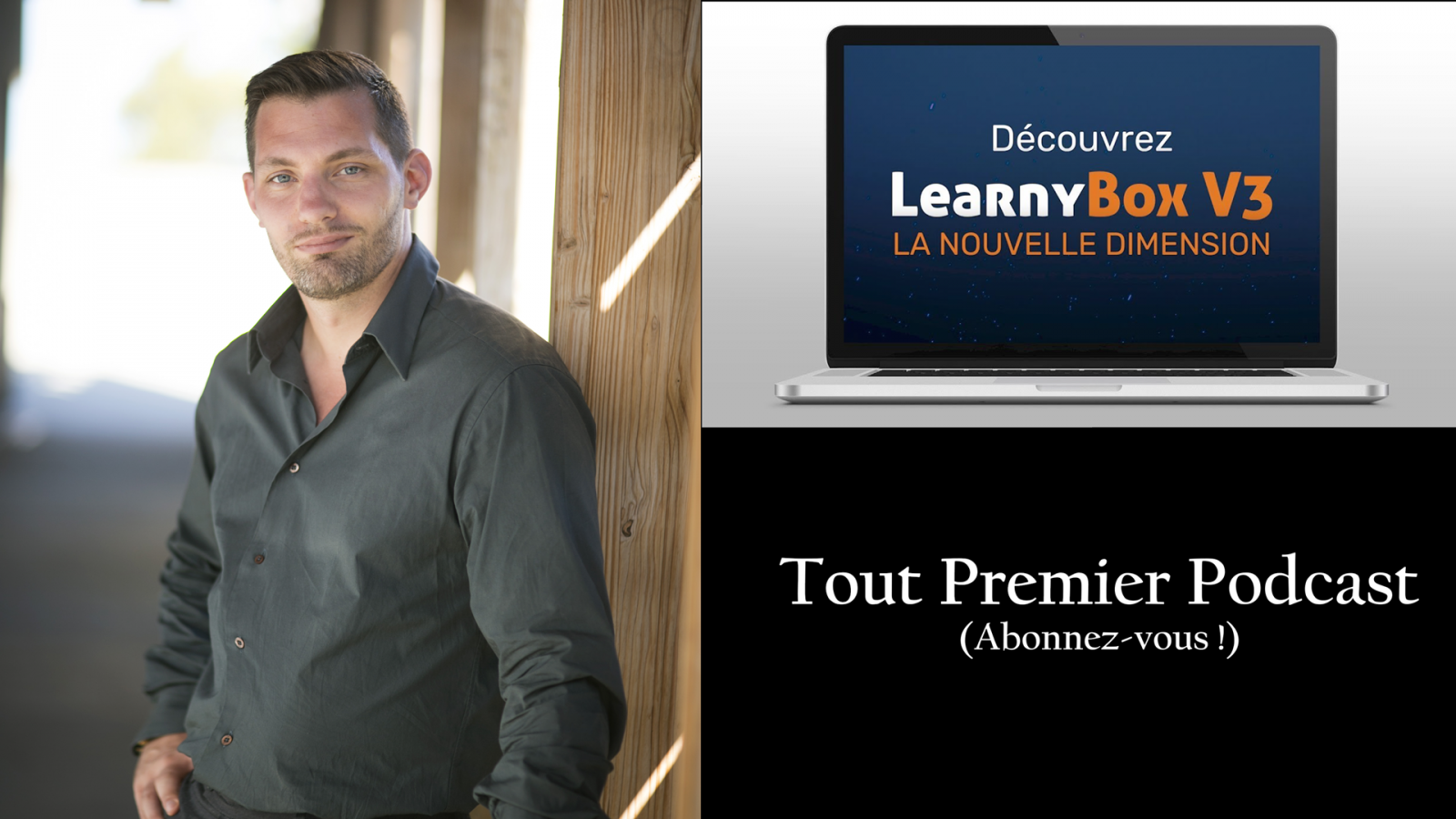 1er podcast : Learnybox V3