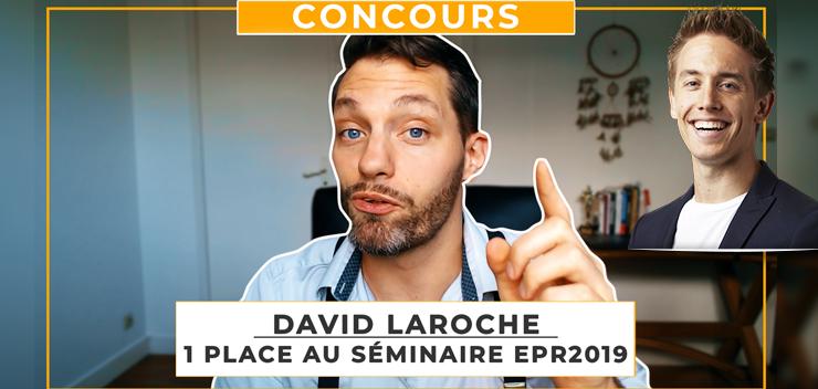 David Laroche : Gagnez votre place pour EPR2019