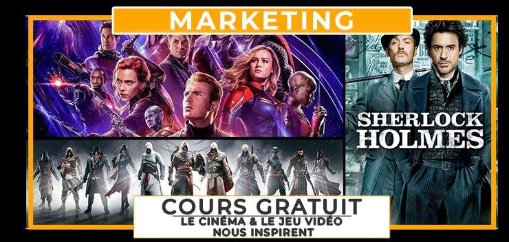 Marketing Digital : Cours Gratuit, inspirons-nous du cinéma et du jeu vidéo