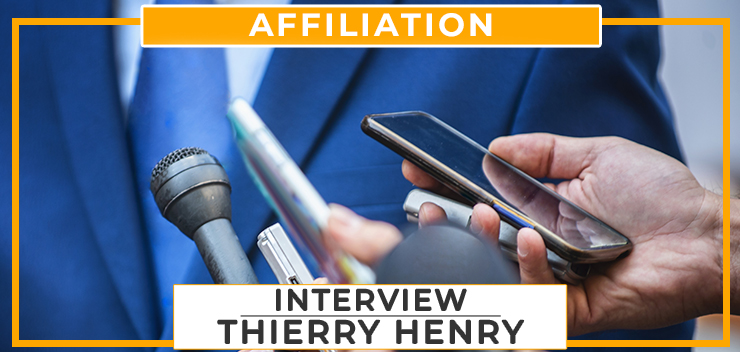 Interview : Thierry Henry
