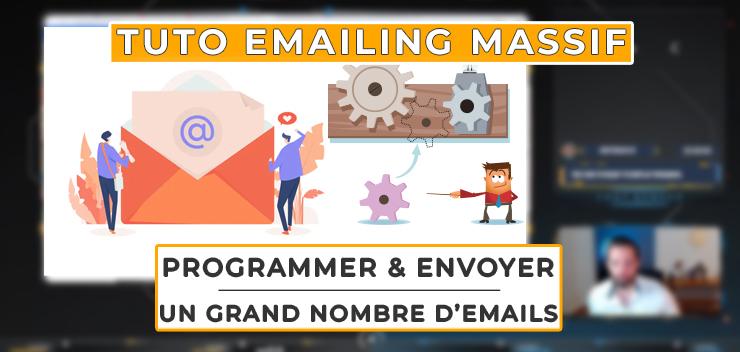 Envoyer massivement (et programmer pour plus tard) des emails en une seule fois |Tuto