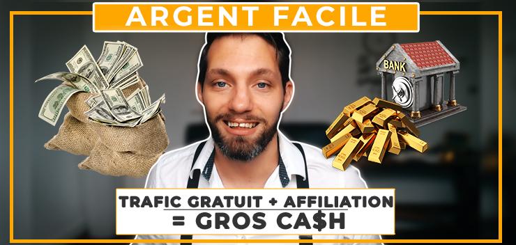 Comment avoir du trafic Gratuit et Gagner de l'argent en investissant 0€