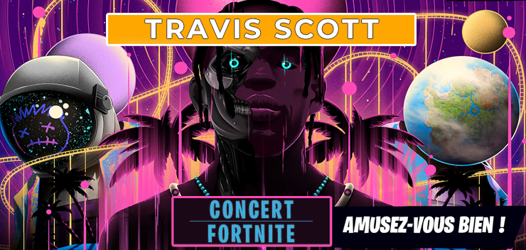Fortnite : Travis Scott en concert virtuel