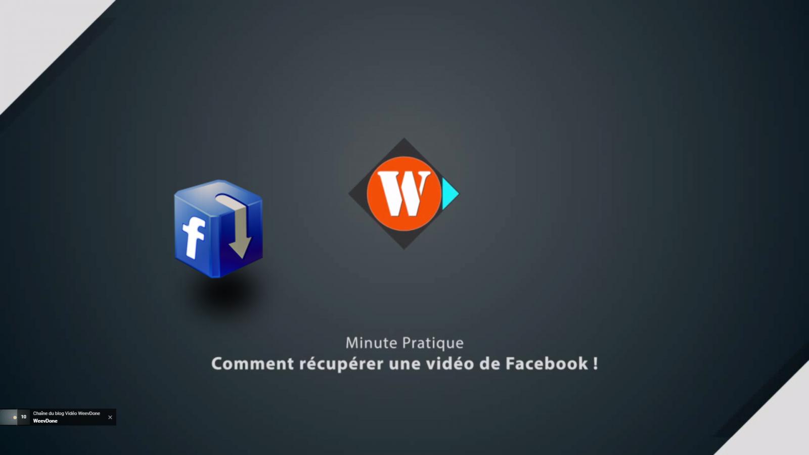 Comment télécharger une vidéo facebook vers votre ordinateur