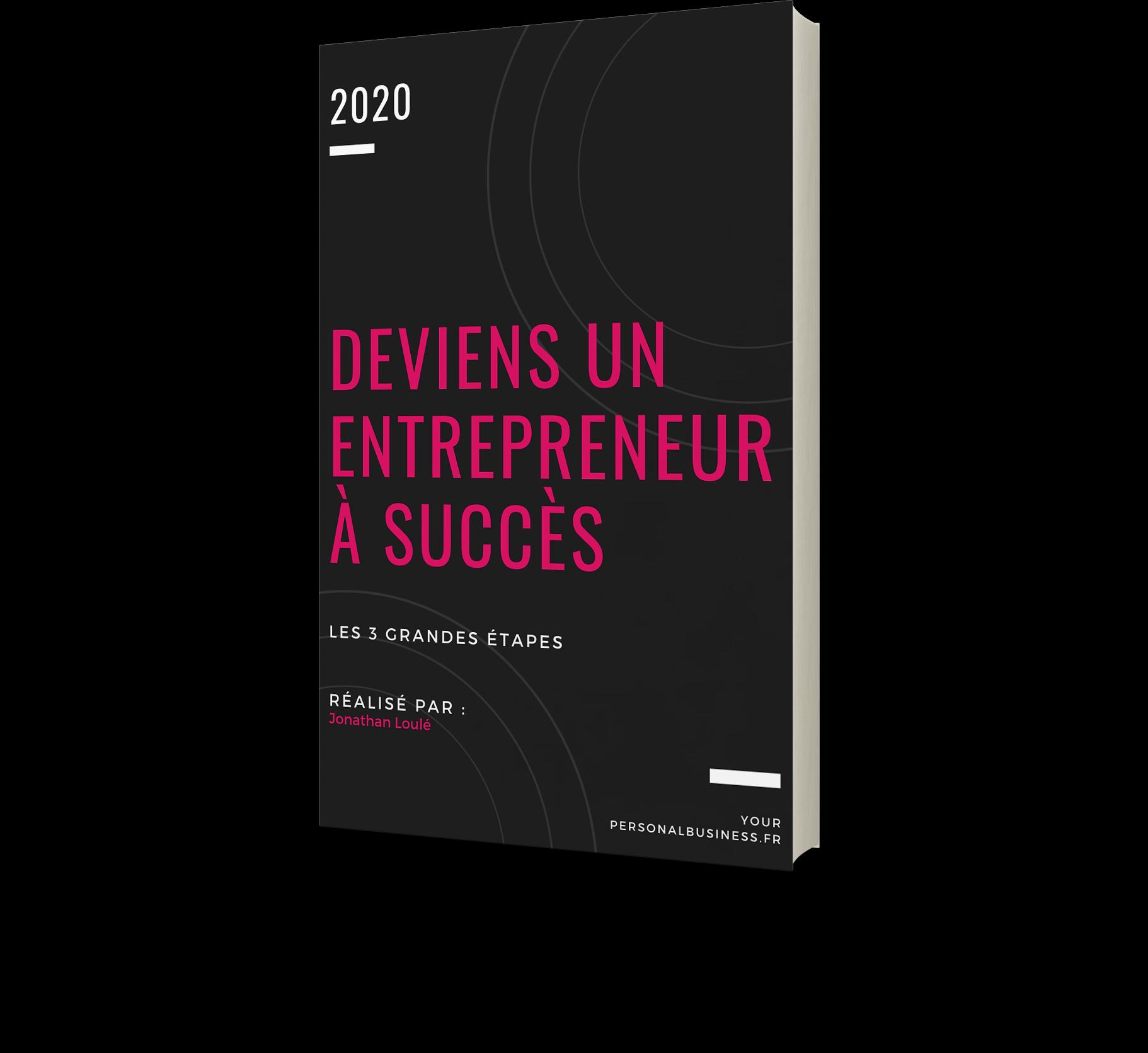 """Image du .pdf """"Deviens un entrepreneur à succès"""""""