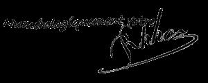 Formation numérologie, signature de l'auteur, Raphaël Hoz