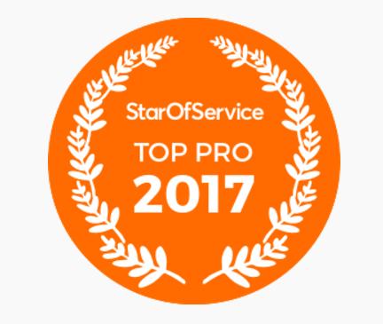 """La communauté Star of Service a nominé Pascale FAIVRE-ZeN'n Diet- dans la catégorie"""" Les meilleurs professionnels de 2017"""""""